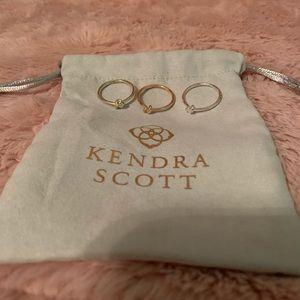 Kendra Scott Knot Ring Set